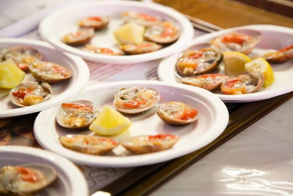 Raw Fasulars Chioggia Fish Festival