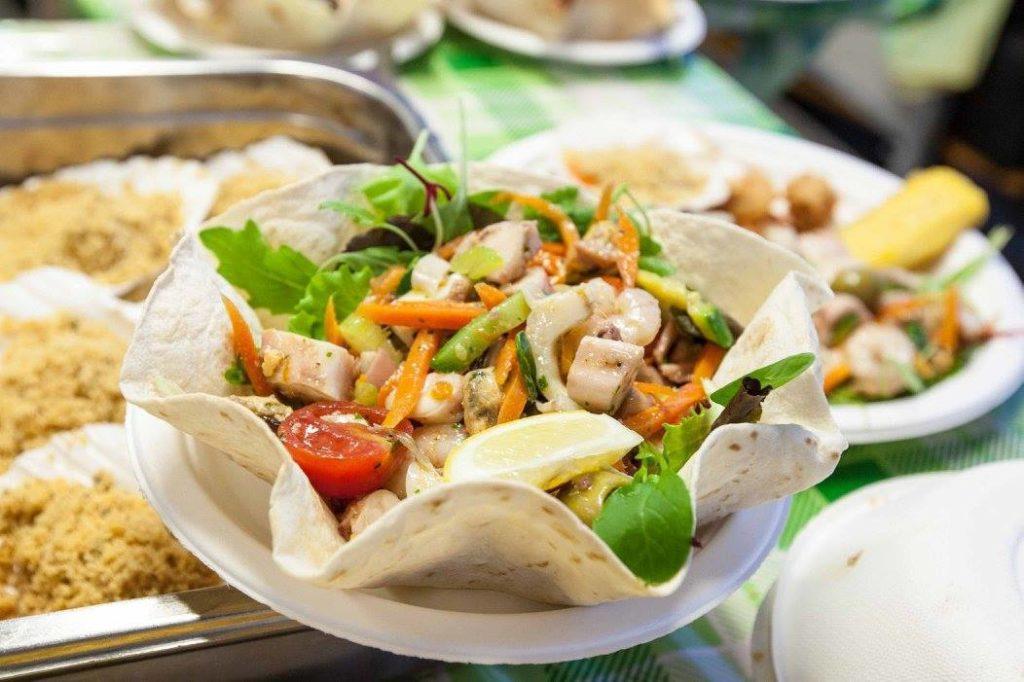 octopus salad fish festival Chioggia