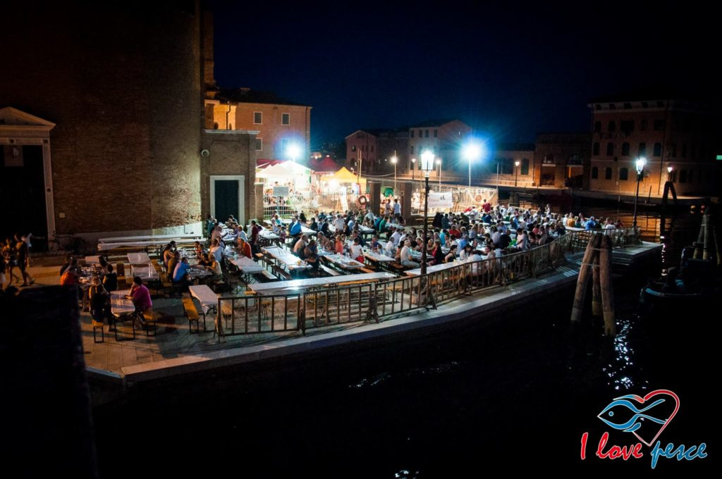 Chioggia fish festival San Domenico stand
