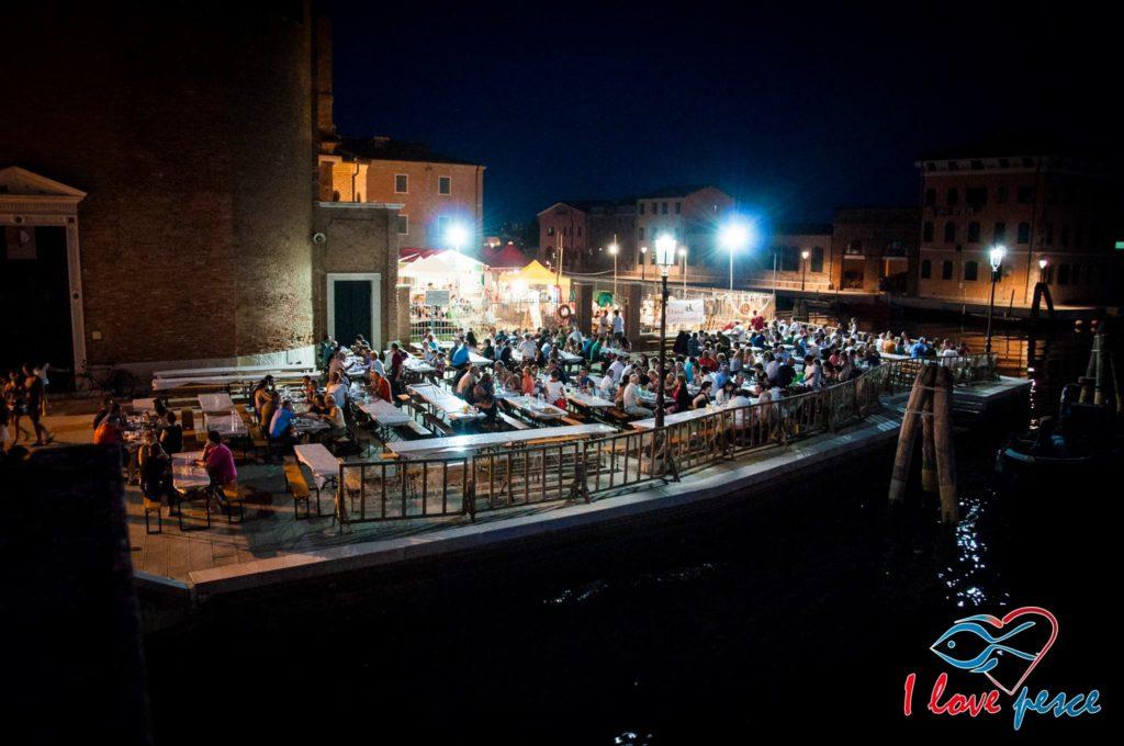 Fischfest Chioggia Stand von San Domenico