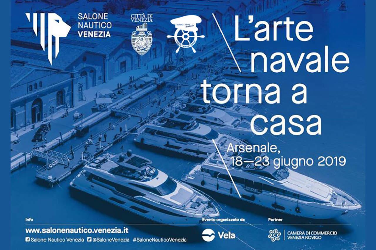 Venedig Bootsmesse Werft Hausboot Rendez vous Fantasia