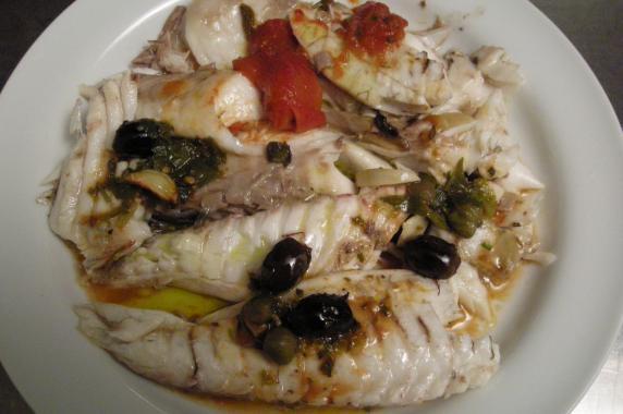 gilthead sea bream fillet