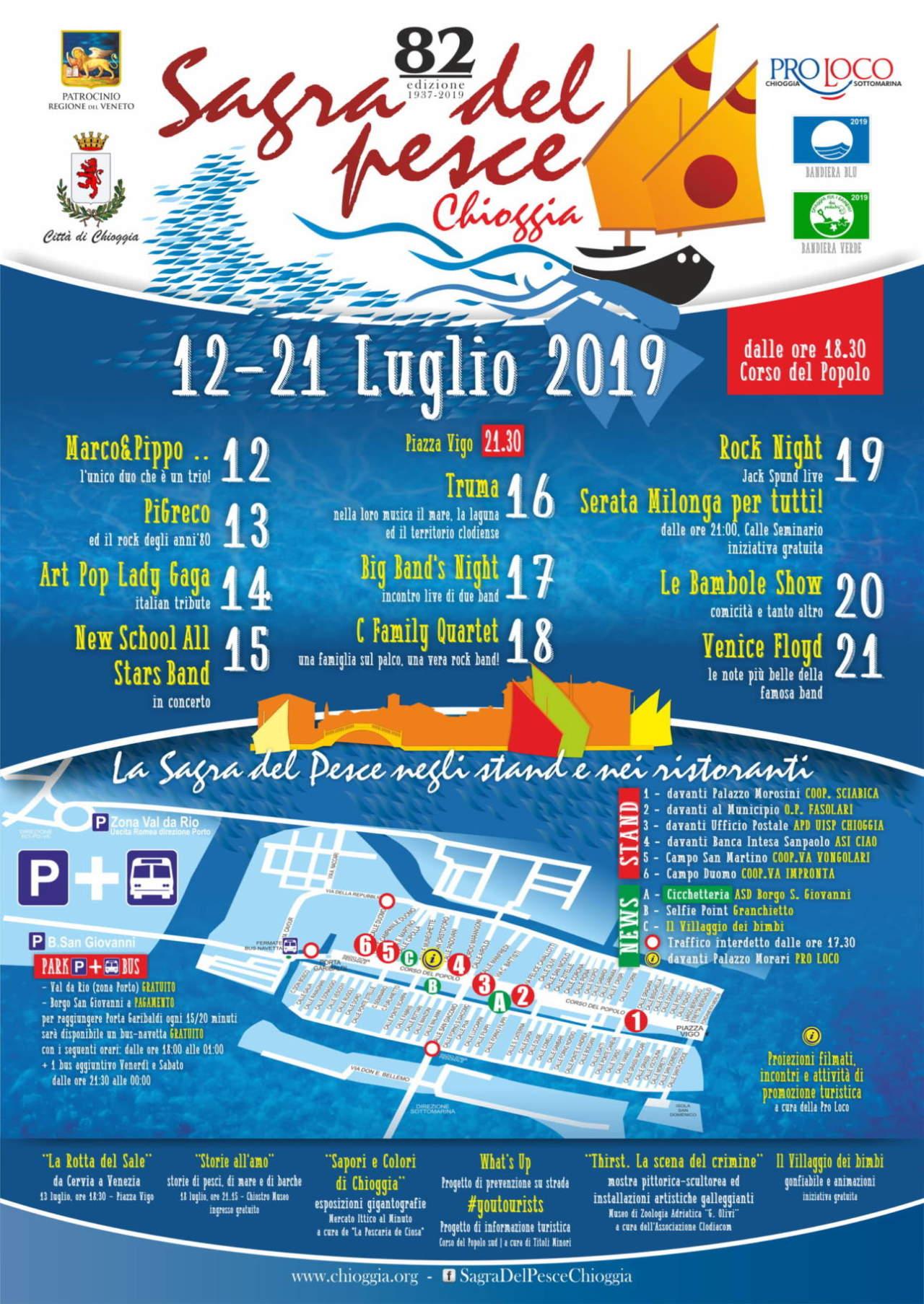Sagra del Pesce 2019 Chioggia programma