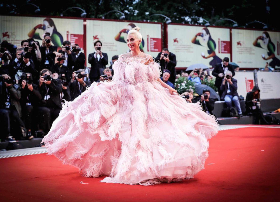 Lady Gaga Mostra del cinema Venezia