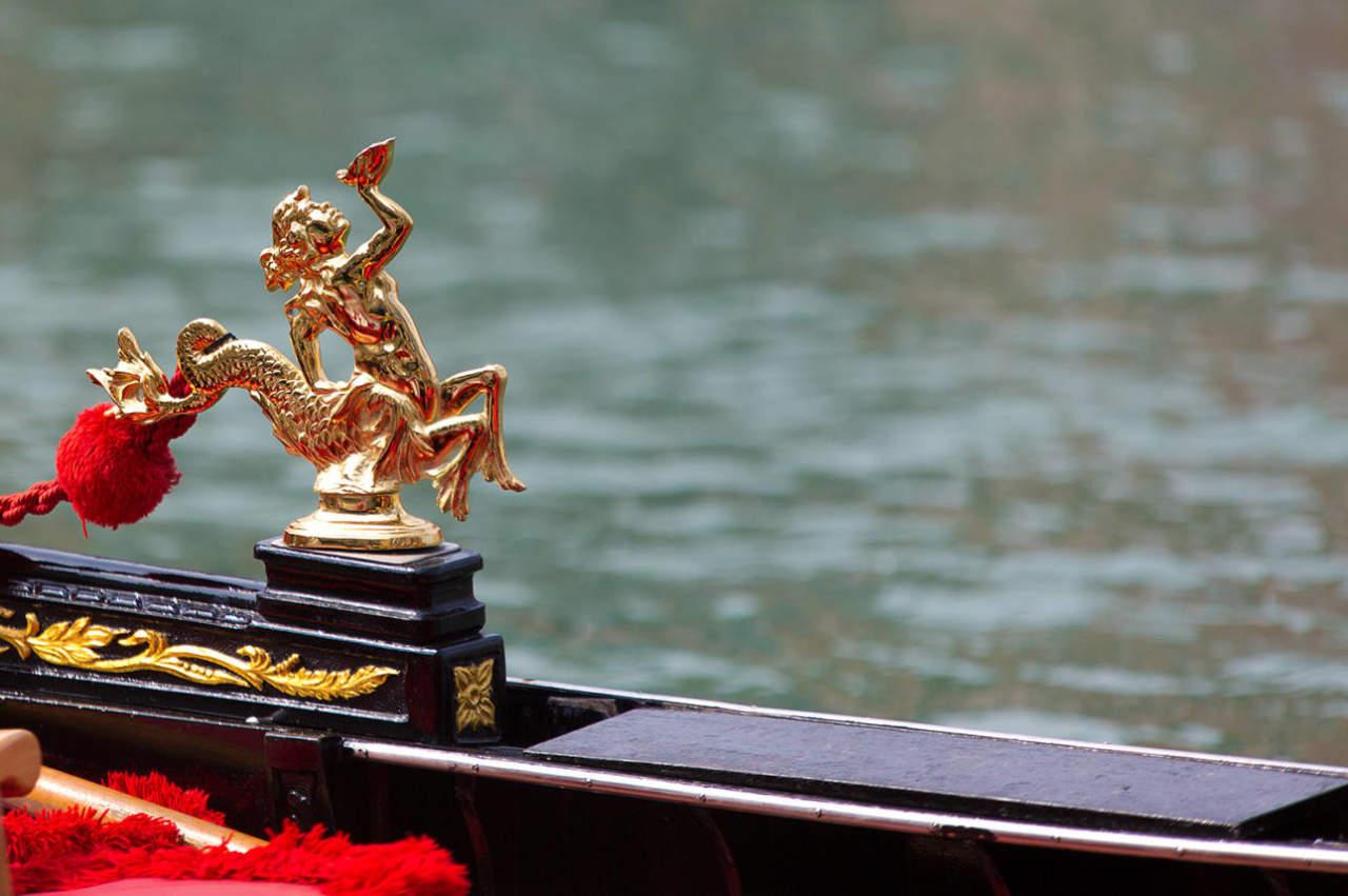 Venezia Regata Storica dettaglio imbarcazione