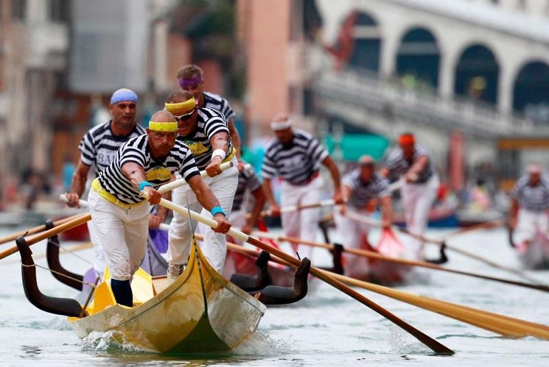 voga veneta regata storica venezia