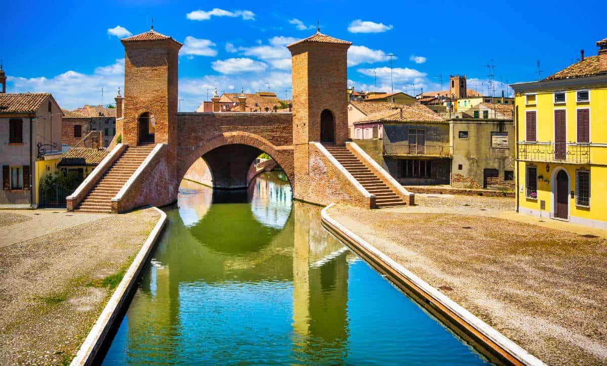 Ponte dei Trepponti di Comacchio