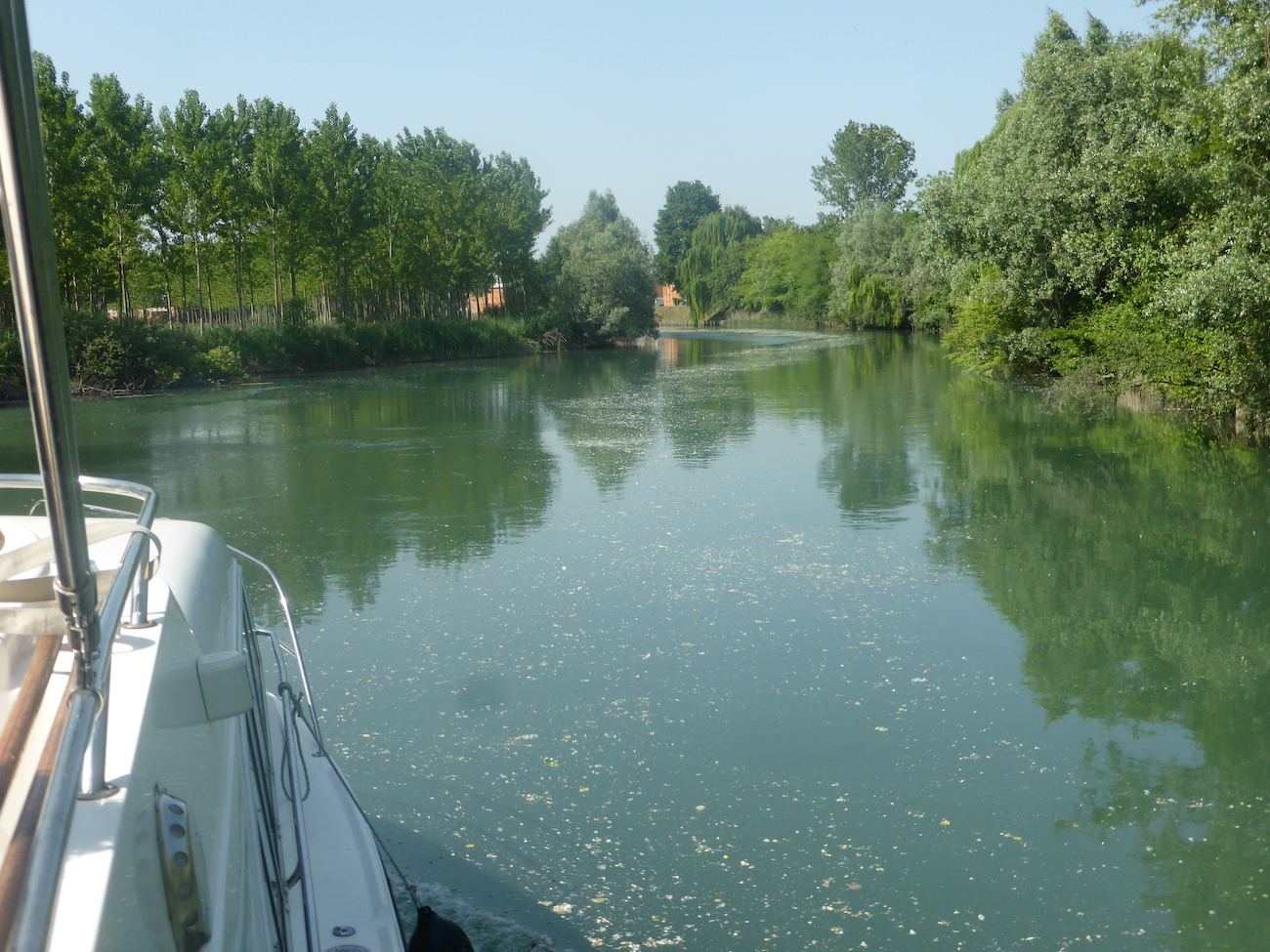 Houseboat Fiume Sile