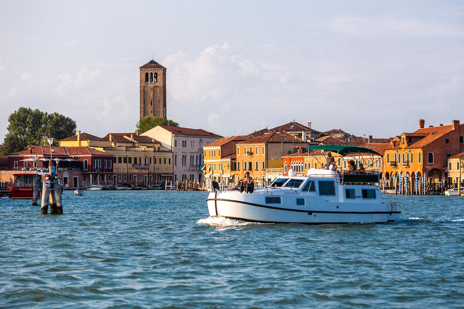 murano Venezia in houseboat